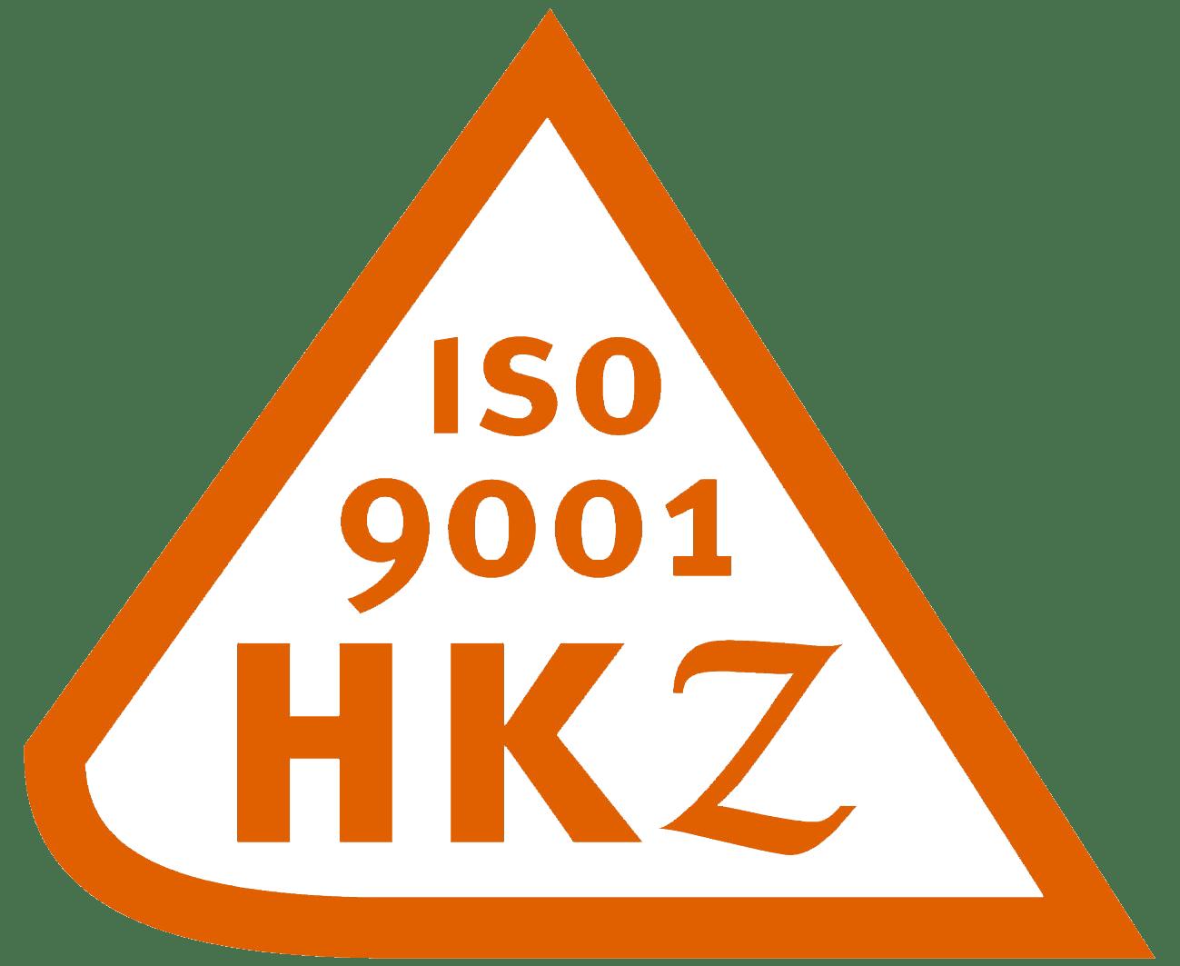 Wij zijn ISO 9001 HKZ Gecertificeerd