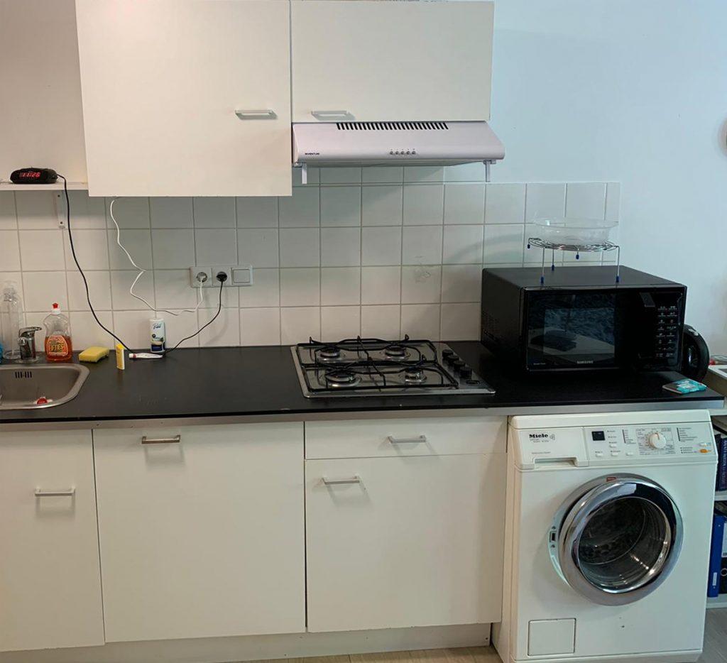 Beschermd Wonen in Groningen WA Scholtenstraat - kamer 1 keuken